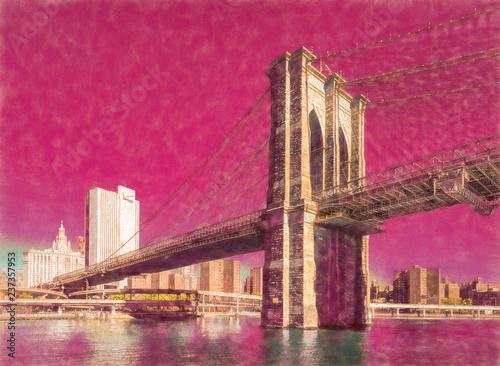Photo The Brooklyn Bridge, New York, USA
