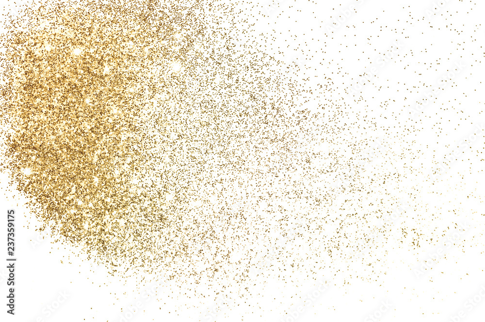 Fototapety, obrazy: Background with gold glitter for your design