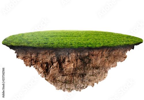 Slika na platnu green grass island