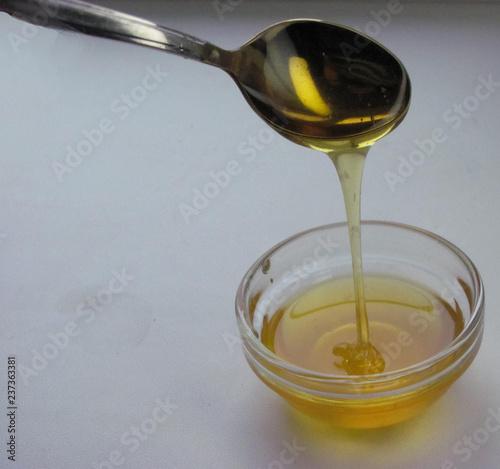 Spoed Fotobehang Aromatische Honey, food, spoon, sweet, healthy.