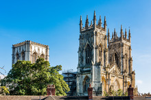 York Minster In North England Is The Cathedral Of York And Is One Of The Largest Of It's Kind In Northern Europe. It's Also The Seat Of The Archbishop Of York