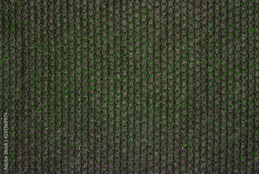 Fototapety, obrazy: Dense black braided fabric texture.