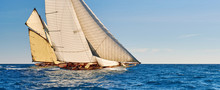 Sailing Yachts Race. Yachting