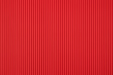 Red Corrugated Cardboard Texture And Background