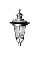 Retro Illustration Of A Lantern