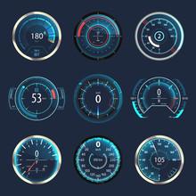 Car Or Automobile Speedometer ...