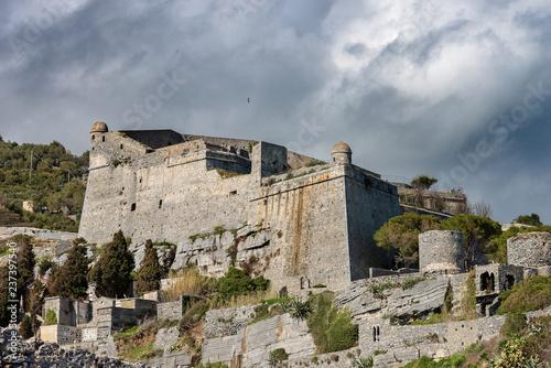 Fotografie, Obraz  The Doria Castle in Porto Venere - Liguria Italy
