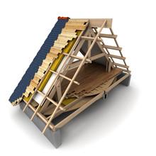 Roof Wooden Framework