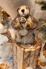 Beavers, Decorations And New Year Toys
