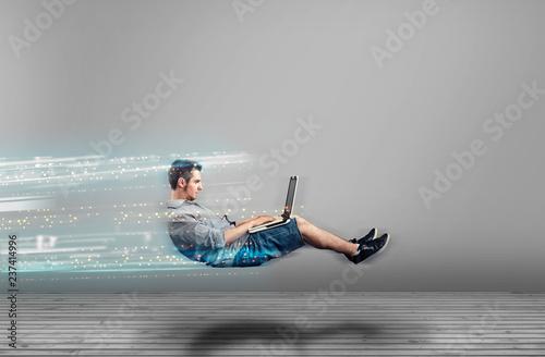 Fotografía High internet speed