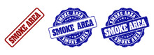 SMOKE AREA Grunge Stamp Seals ...