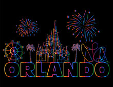 Orlando Colorful Lettering On ...