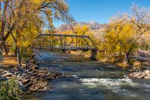 Arkansas River Old Trestle Bri...