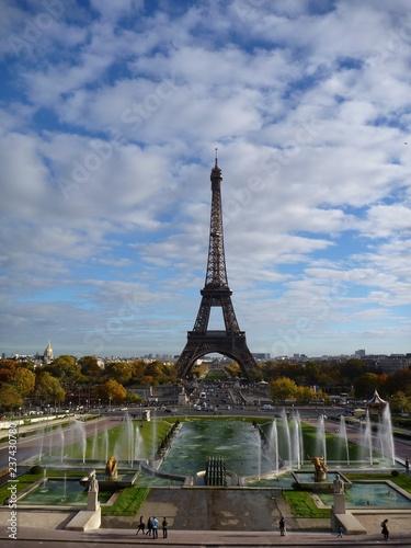 Foto op Aluminium Eiffeltoren La Tour Eiffel, Paris, France (3)
