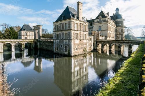 Chateau de Serrant Canvas Print