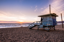 Lifeguard Tower On One Of The ...