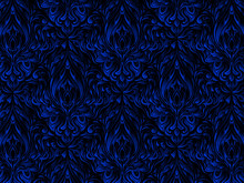 Black And Blue Pattern.