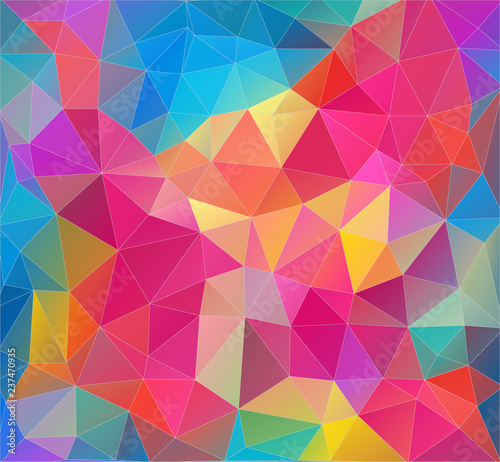 Geometric background. Abstract triangle composition. Eps10 vector.