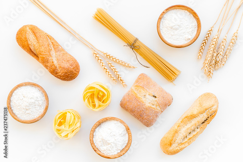Fényképezés Products made of wheat flour