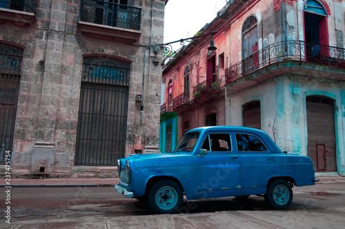 In de dag Havana Havana buildings, CUBA