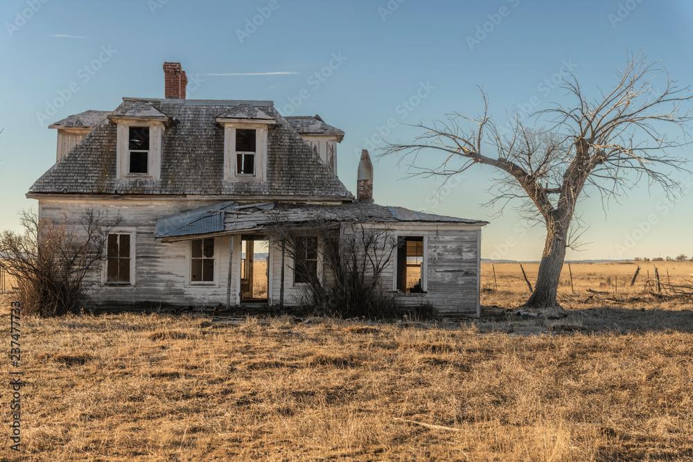 Fototapeta Old Prairie House