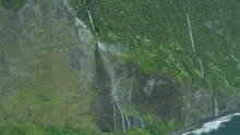 Aerial Shoreline View Of Valle...