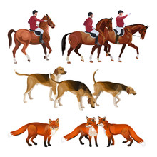 Fox Hunting Set