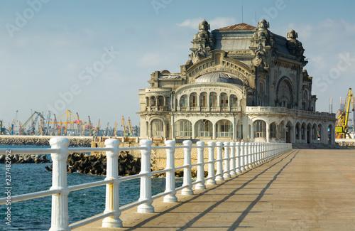 Foto op Canvas Europa Abandoned casino in Constanta