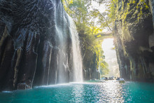 Waterfall And Boat At Takachih...