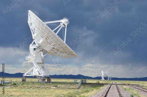 Fotografie, Tablou  Very Large Array satellite dishes, New Mexico, USA
