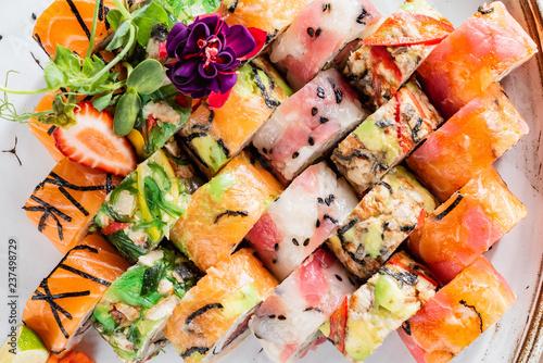 big sushi set Canvas