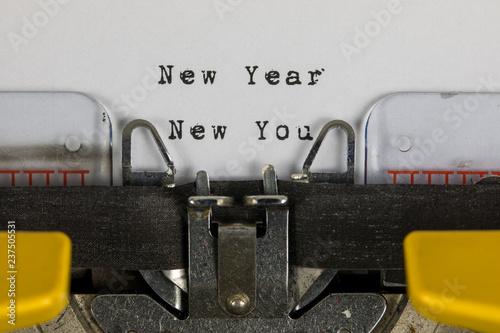 Fototapeta New Year New You obraz