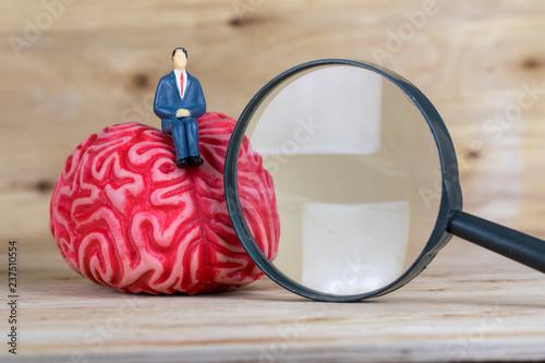 Brain Concept Wallpaper Mural