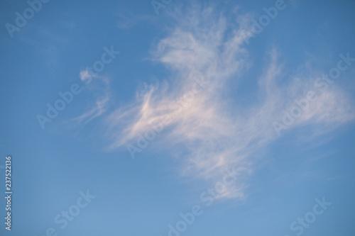 Fényképezés  Background of bright sunset sky.
