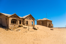 Kolmanskuppe, Aslo Known As Kolmanskop, A Diamond Mining Ghost Town On The Skeleton Coast Of Namibia.