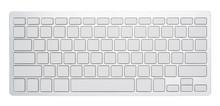 Blank Silver Computer Keyboard...