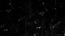 Black Vintage Scratched Grunge Background, Old Film Effect, Space For Text