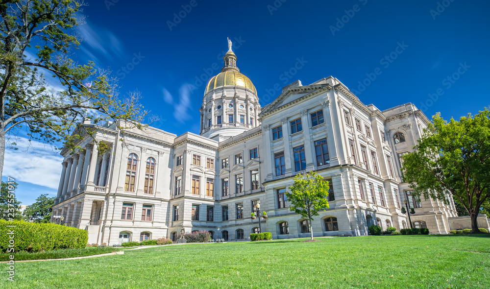 Fototapety, obrazy: Georgia State Capitol in Atlanta