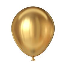 Golden Balloon 3D