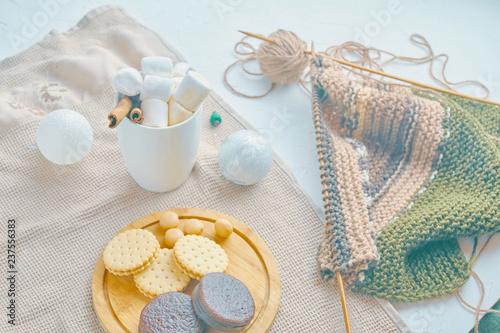 Fototapeta Merry Christmas concept obraz na płótnie