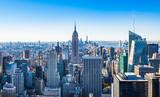 Fototapeta Nowy Jork - ニューヨーク マンハッタンの摩天楼