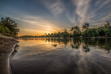 Sunset On The American River, Sacramento