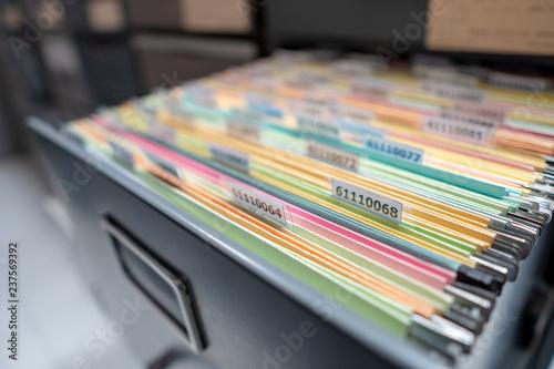 Fototapeta Important documents in the office. obraz