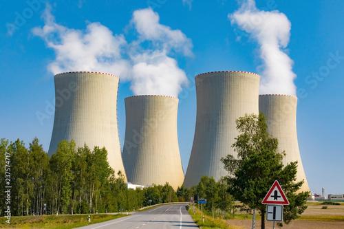 Foto op Plexiglas Stad gebouw Thermal power plant
