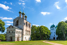Rostov Borisoglebsky Monastery. Golden Ring Of Russia.