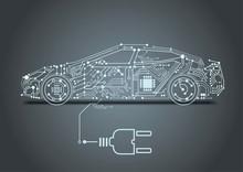 Autonomous Driving With A Electric Car