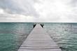 Wooden pier, Caye Caulker, Belize, Caribbean