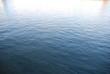 canvas print picture - blaues wasser mit kleinen wellen ruhe entspannung