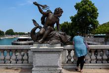 Parigi - Ponte Sulla Senna (st...