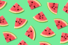 Colorful Fruit Pattern Of Wate...